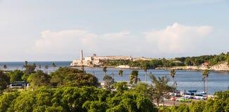 Moro Castle in Havana Cuba royalty-vrije stock fotografie