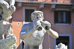 Moro fountain Stock Photos
