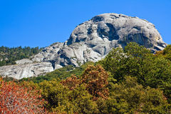 Moro Rock. View of Moro Rock in Sequoia National Park, California Stock Image