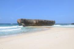 Moro Rock Formation op het Eiland Aruba royalty-vrije stock afbeeldingen