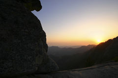 Moro Rock, Kings Canyon National Park Stock Photo