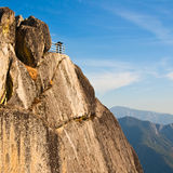 Moro Rock Overlook. Moro Rock in Sequoia National Park, California Royalty Free Stock Photo