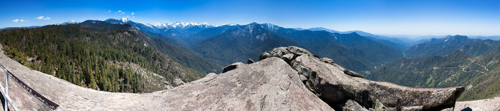 Moro Rock Panorama Stockbilder