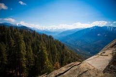 Moro Rock, parc national de séquoia Photographie stock libre de droits