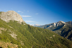 Moro Rock in Sequoia National Par Royalty Free Stock Photography