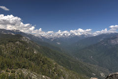 Moro Rock sequoianationalpark Royaltyfri Foto