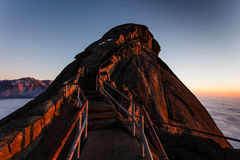 Moro Rock Staircase III Royalty Free Stock Images