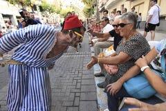 Moro Traidor Parade Fotos de archivo libres de regalías