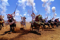 Morocan fantasi Arkivfoto