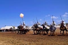 Morocan Fantasia Royalty Free Stock Image