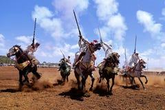 Morocan Fantasia Stock Photo