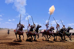 Morocan Fantasia Stock Image
