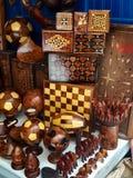 Moroccamhoutbewerking royalty-vrije stock fotografie