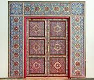 moroccan двери Стоковые Изображения RF