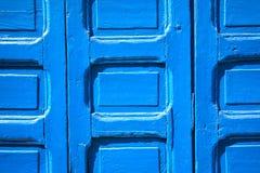 moroccan двери Стоковое Изображение RF