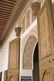 moroccan конструкции нутряной Стоковое фото RF