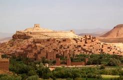 moroccan крепости benhaddou ait стародедовский Стоковые Фотографии RF