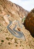 moroccan ландшафта Стоковая Фотография RF