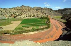 moroccan ландшафта Стоковое Изображение RF
