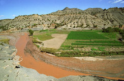 moroccan ландшафта Стоковое фото RF