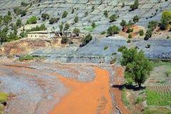 moroccan ландшафта Стоковые Фото