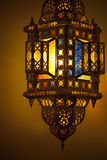 moroccan фонарика Стоковое фото RF