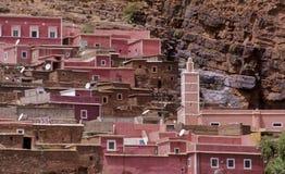 moroccan 3 отсутствие села Стоковые Фото