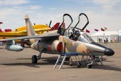 Moroccan Alpha Jet Royalty Free Stock Photo