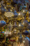 Moroccan antique lamp Royalty Free Stock Images