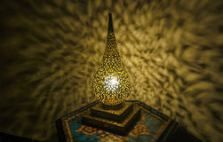 Moroccan antique lamp Royalty Free Stock Image