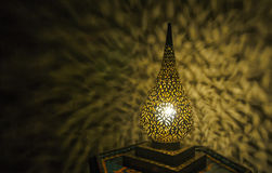 Moroccan antique lamp Stock Images