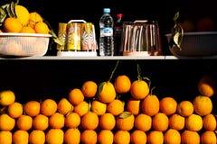 moroccan apelsiner Arkivfoto
