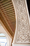 Moroccan architectural detail Royalty Free Stock Photography