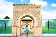 Moroccan architecture Stock Image