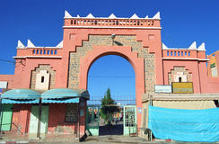 Moroccan architecture Stock Photo