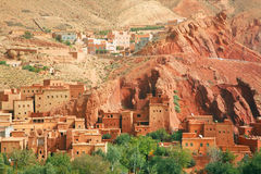 Moroccan architecture Royalty Free Stock Photos