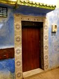 Moroccan Architecture - art of decor. Morocco has been influenced by many cultures throughout the years. For centuries, the country was formed by the mixture of royalty free stock photography