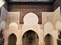 Moroccan Architecture - art of decor. Morocco has been influenced by many cultures throughout the years. For centuries, the country was formed by the mixture of stock photos
