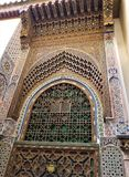 Moroccan Architecture - art of decor. Morocco has been influenced by many cultures throughout the years. For centuries, the country was formed by the mixture of stock image