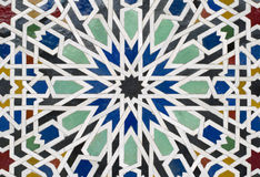 Moroccan Architecture Details. For Moroccan building Royalty Free Stock Images