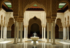 Moroccan Architecture Interior Stock Photo