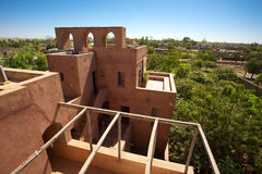 Moroccan architecture in Mopti Dogon Land Stock Photos
