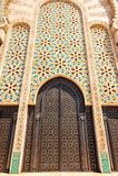 Moroccan architecture traditional design. Hassan II Mosque in Ca. Sablanca, Morocco Stock Photo