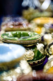 Moroccan Ashtrays Royalty Free Stock Images