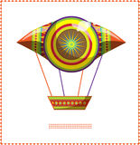 Moroccan balloon A Royalty Free Stock Image