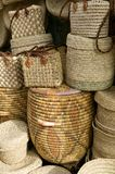 Moroccan baskets Stock Photo