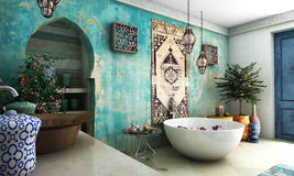 Free Moroccan Bathroom Stock Photos - 28809393