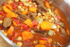Moroccan beef tagine Stock Photo