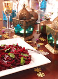 Moroccan beet salad Stock Photo