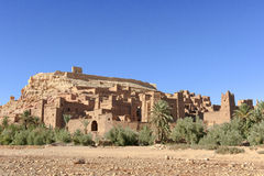 Moroccan Berber Kasbah Ait Benhaddou Royalty Free Stock Images